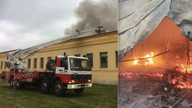 Desítky hodin boje s ohnivým peklem na Náchodsku: Škoda přes 100 milionů!