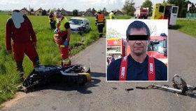 Patrik (†35) tragicky zemřel na motorce: Dojemná slova zdrcené manželky!