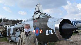Sběratel má na zahradě unikátní nadzvukovou stíhačku: Bránila Británii před útokem SSSR