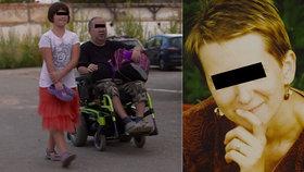 Smutný osud malé Kristýnky z televize: Po mámě jí zemřel i postižený tatínek