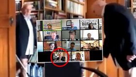 Radního zradil videokonferenční hovor. Na zastupitelstvu ho přistihli bez kalhot