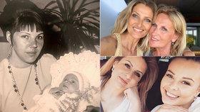 Den matek slavných: Vojtek jako miminko, Kerndlová na svatbě i těhotná Bagárová přejí maminkám