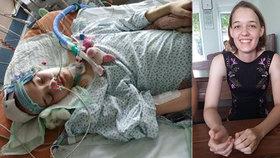 Monika (17) snila o vlastní cukrárně: Kvůli nádoru na mozku skončila jako ležák