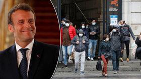"""Otevřená kadeřnictví, děti ve škole. Francie ožívá, Macron varuje: """"Virus nezmizel"""""""