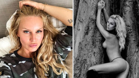 Nahota Simony Krainové namíchla fanoušky: Modelka jim dala co proto!