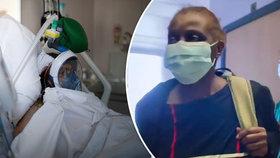 Sestřičce dávali jen 50procentní šanci na přežití. Koronavirus i přes komplikace porazila