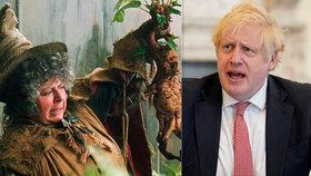 Hvězda Harryho Pottera šokovala Brity: Chtěla jsem, aby Borise Johnsona zabil koronavirus!