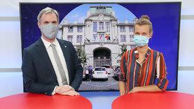 Vysílali jsme: Primátor Hřib o policejní ochraně, nelibosti Ruska i koronaviru v Praze