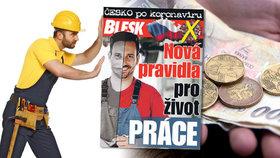 Česko po koronaviru: S právy zaměstnance pomůže speciální příručka zdarma v Blesku!