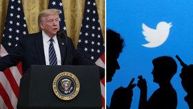 """Twitter začíná boj proti nepravdám o koronaviru. """"Došlápne"""" si i na Trumpa?"""