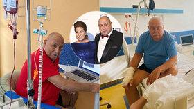 Andrej Hryc trpící akutní leukemií: 2 měsíce izolace od rodiny!