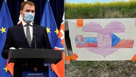 """Státní """"karanténa hrůzy"""" na Slovensku končí. Premiér chce otevřít hranice, má to háček"""