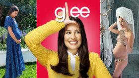 Hvězda seriálu Glee je těhotná! 7 let od tragické ztráty partnera (†31)