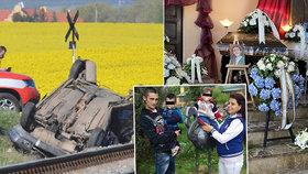 Smutná dohra tragické bouračky: Matyášek (7 měs.) s Lukáškem (4) se rodičů a brášky nedočkají