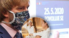Sauny čekají nápor, lidé budou chtít posílit imunitu. Na ceremoniály i studny zapomeňte