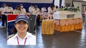 Pilotka zemřela při nehodě, letěla s testovacími sadami na covid-19 do odlehlé vesnice