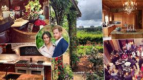 """Ze Sussexu do luxusu! Takhle vypadá """"obyčejný"""" život Meghan a Harryho! Jak mohli tak dlouho žít """"po selsku""""?!"""