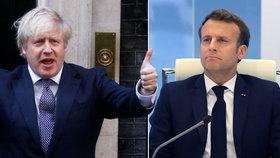 Macron s Johnsonem se za zády poradců dohodli o cestování: Přes La Manche bez karantény?