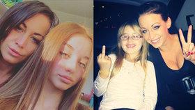 Kordula (14) už konkuruje Agátě: Sestra je hezčí! Nevadí mi to, tvrdí Prachařová