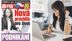 Příručka Česko po koronaviru s radami pro podnikatele! Už v pondělí zdarma v deníku Blesk
