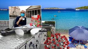 Velký dovolenkový přehled: Kam se v Evropě můžeme podívat a co nás čeká na plážích?