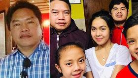 Ze čtyř dětí koronavirus udělal sirotky : Pět let po smrti matky zemřel i jejich otec (†55)