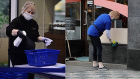 Sáhnu na plast a nakazím se koronavirem? Přenos rukama není tak snadný, míní vědci