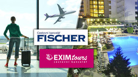 Exim Tours a Fischer zrušily letní zájezdy. Babiš pro Blesk: Je to pomocná ruka cestovek