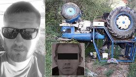 Rodiny se dojemně rozloučily s Vojtou (†23) a Mirkem (†29): Zemřeli při nehodě traktoru