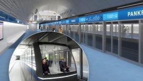 Blíží se stavba metra D? Magistrát a dopravní podnik chtějí už letos získat stavební povolení