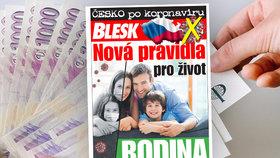Koronavirová krize ohrozila rodiny, proti nouzi pomůže příručka! Už v pondělí ZDARMA v deníku Blesk!