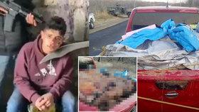 Pomsta za popravu: Dvanáct mrtvých na korbě auta!