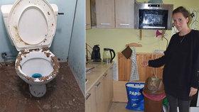 Nechutný zápach: Byt Kateřině vyplavily fekálie! Odpad ucpaly dámské vložky
