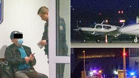 Nepovolené přistání na zavřené ranveji: Pilot nejspíš ztratil orientaci, uvedl Úřad pro civilní letectví