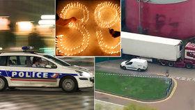 Ve Francii a Belgii zadrželi 26 lidí: Jsou podezřelí ze smrti desítek Vietnamců v kamionu