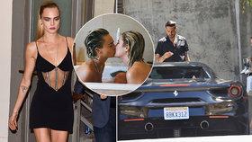 Zoufalá modelka Cara Delevingneová: Holka jí zdrhla za fešným boháčem?!