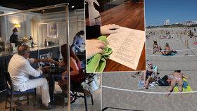 Dovolená po pandemii: Na švédský stůl zapomeňte. A jak to bude vypadat na plážích?