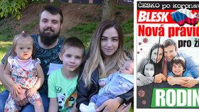 Koronavirus zasáhl i pětičlennou rodinu ze Zlína: Měsíc žili jen z rodičovského příspěvku!