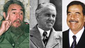 Nejmilejší pochoutky děsivých diktátorů: Šéfkuchaři promluvili o nočním rybolovu i kanibalismu