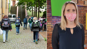 Výuka v době koronaviru: Škola je teď spíš hlídací instituce, říká učitelka Markéta
