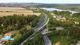 """U """"Boleváku"""" v Plzni roste část východního okruhu: Rozjede se příští rok v srpnu"""