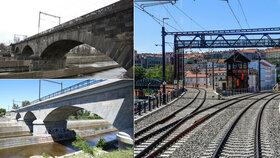 Odhalené tajemství i řádění vichru: Takhle se opravoval Negrelliho viadukt! Vrací se na něj vlaky