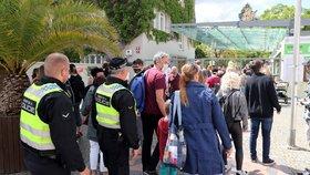 Do Zoo Praha se dostane víc lidí už ve čtvrtek. Kvůli akci pro zdravotníky, zdůvodnil Vojtěch navýšení limitu
