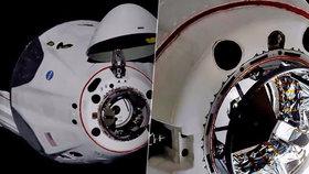 Muskovu loď přejmenovali na Endeavour. Astronauti vstoupili na vesmírnou stanici, čeká na ně vzkaz