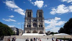 Okolí vyhořelé Notre-Dame po roce otevřelo. Paříž musela čistit okolí od toxického prachu
