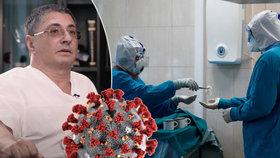"""""""Jsou to všechno kraviny. Ti, co mají zemřít, zemřou."""" Tvář koronaviru šokovala Rusko"""
