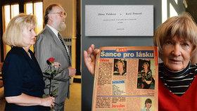 Jako z červené knihovny! Zdena (73) našla lásku díky Blesku, pomohla seznamka z roku 1995!