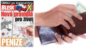 Zamával vám koronavirus s domácím rozpočtem? Nová příručka Peníze ZDARMA v Blesku pomůže a poradí!