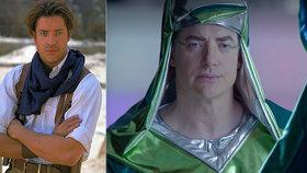 Hvězda Mumie je zpět: Bývalý sexsymbol Brendan Fraser se vrací v českém filmu!?