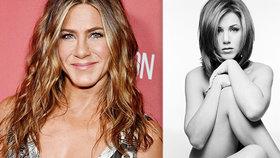 Necudná Rachel? Anistonová prodává své nahé tělo!
